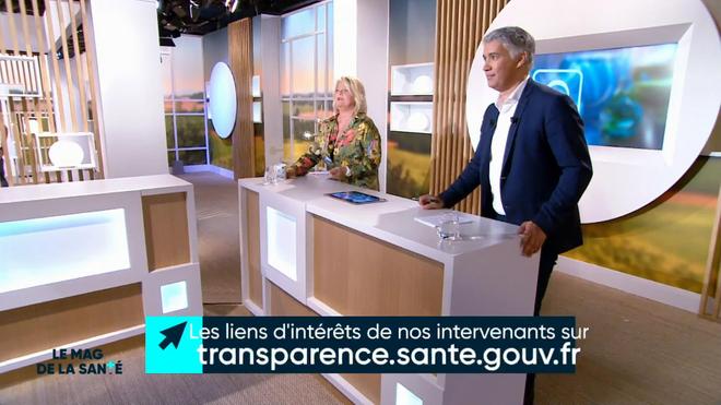 Marina Carrère d'Encausse et Régis Boxelé expliquent la drépanocytose.