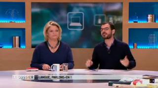 Marina Carrère d'Encausse et Benoît Thevenet décrivent en image l'anatomie de la cavité buccale
