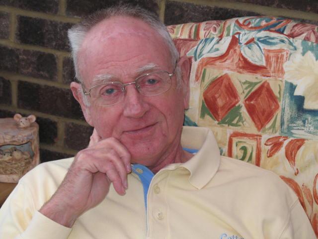 John McCafferty, en 2009 (Crédit : Association britannique des personnes atteintes de cardiomyopathie)
