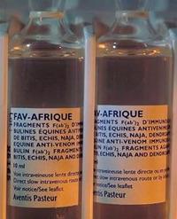 Le sérum FAV-AFRIQUE (DR)