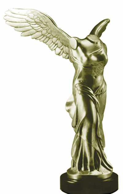 Statuette remise aux lauréats du prix Lasker