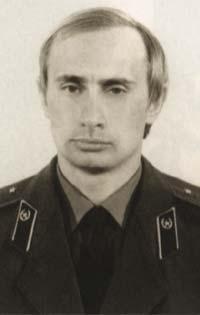 Vladmir Poutine du temps où il était officier du KGB (DR)