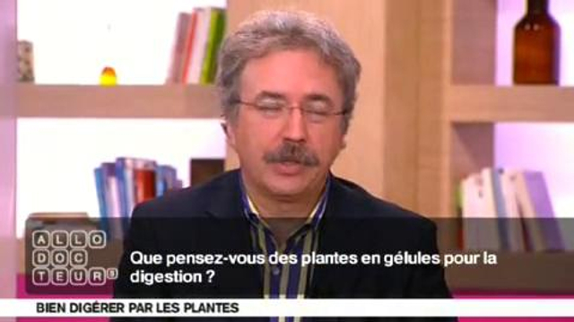 Digestion : des plantes en gélulesou en tisane?