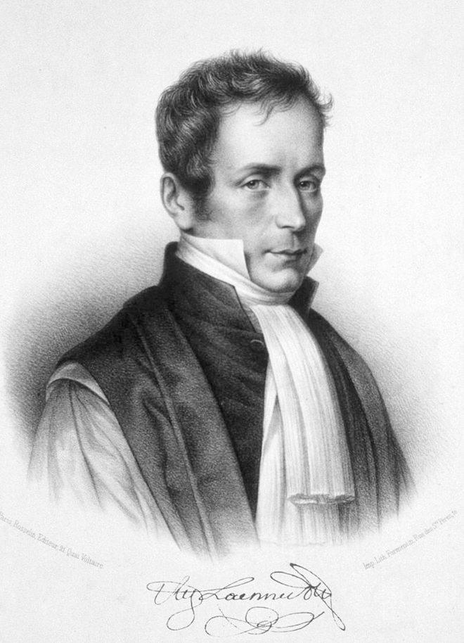 Portrait de René-Théophile-Marie-Hyacinthe Laennec.