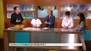 Extrait de la chronique scientifique qui sera diffusée le 23 mars sur France 5.
