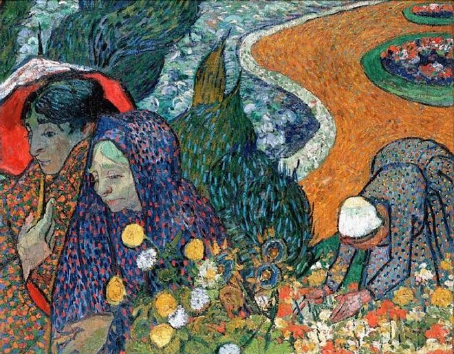 """Dans la nouvelle """"l'Arlésienne"""" d'Alph. Daudet, le personnage éponyme est perpétuellement annoncé, mais n'arrive jamais. L'expression désigne désormais toute promesse dont la concrétisation est sans cesse repoussée… (Illustr. """"Femmes d'Arles"""", V. Van Gogh"""