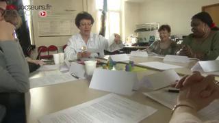 Atelier d'éducation thérapeutique à l'hôpital Saint-Antoine à Paris