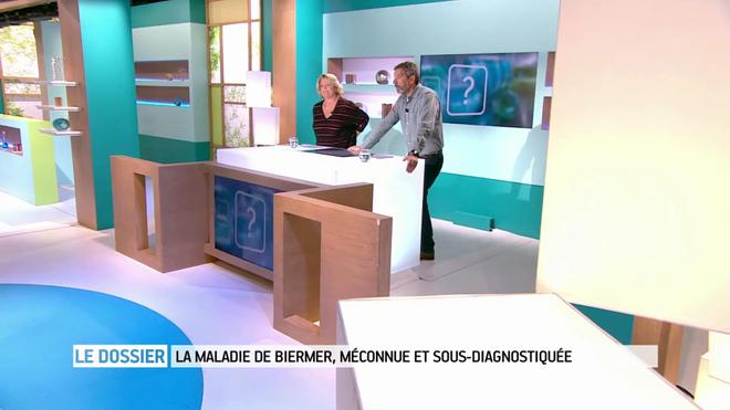 Marina Carrère d'Encausse et Michel Cymes expliquent la maladie de Biermer