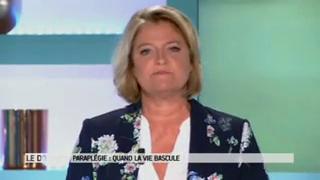 Marina Carrère d'Encausse et Michel Cymes expliquent l'hématome extradural médullaire.