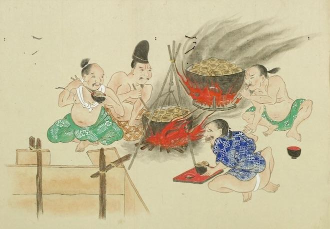 Dans le He-gassen (屁合戦), un régime spécial est imposé aux combattants. Avec suffisamment de glucides lents, de grands volumes de gaz pourraient être faiblement odorants !