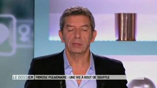 Benoît Thevenet et Michel Cymes expliquent la fibrose pulmonaire.