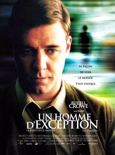 """Affiche du film """"Un homme d'exception"""", de Ron Howard (2001)"""