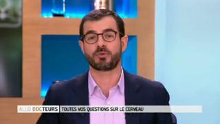 Marina Carrère d'Encausse et Benoît Thevenet présentent le cerveau