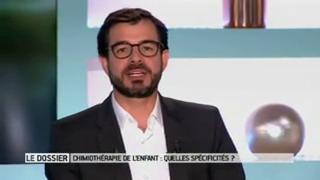 Marina Carrère d'Encausse et Benoît Thevenet expliquent la chimiothérapie