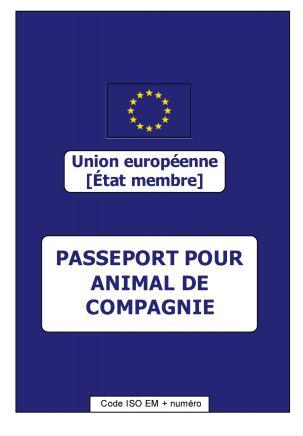 Ce passeport est obligatoire pour voyager en europe avec un animal