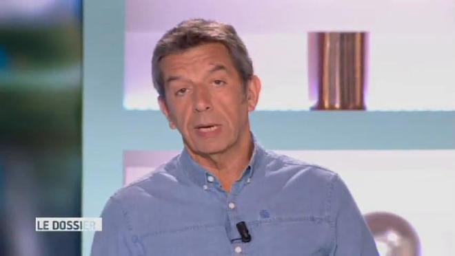 Marina Carrère d'Encausse et Michel Cymes présentent le coccyx