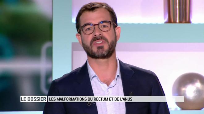 Marina Carrère d'Encausse et Benoît Thevenet décrivent les malformations du rectum et de l'anus