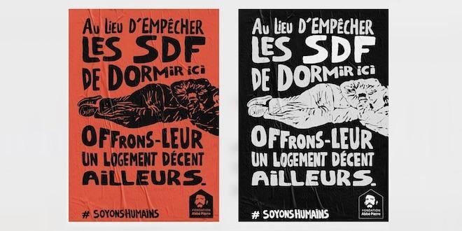 Extraits de la vidéo : opération #SoyonsHumains https://www.youtube.com/watch?v=fB_l-WWXAr4 (Fondation Abbé Pierre)
