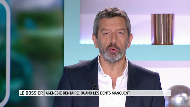 Marina Carrère d'Encausse et Michel Cymes expliquent l'agénésie dentaire