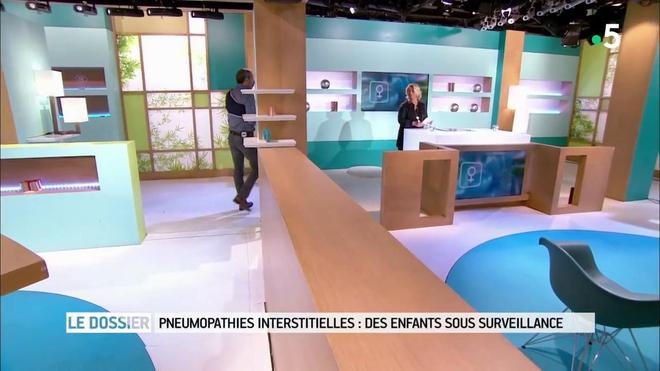 Marina Carrère d'Encausse et Michel Cymes expliquent les pneumopathies interstitielles