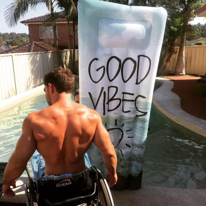 Scott est paraplégique depuis l'âge de 17 ans. ©Scott Doolan