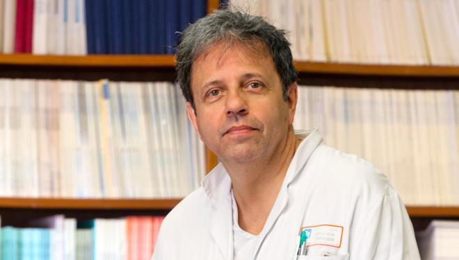 Xavier Capdevila, chef du département d'anesthésie-réanimation au CHU Lapeyronie de Montpellier.