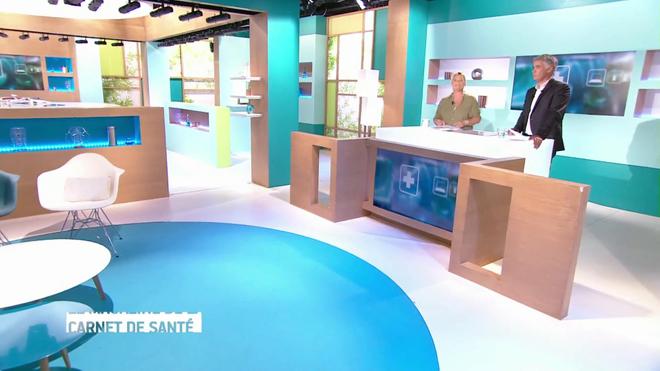 Marina Carrère d'Encausse et Régis Boxelé expliquent l'amylose cardiaque