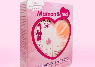 """Le pack """"Maman et moi"""", de la marque Lactacyd"""