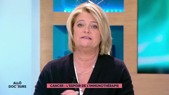 Marina Carrère d'Encausse et Régis Boxelé expliquent l'immunothérapie