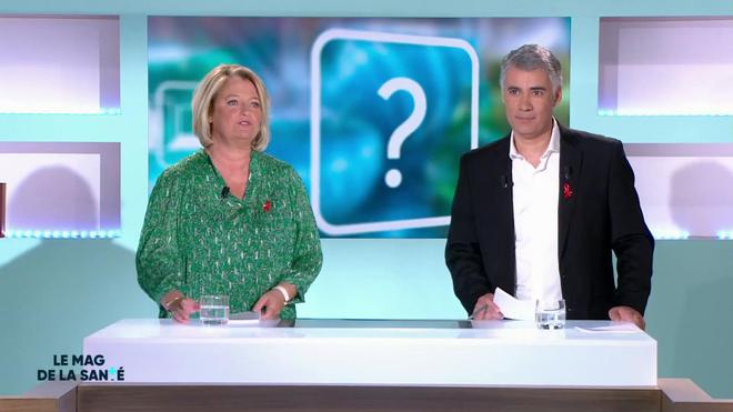 Marina Carrère d'Encausse et Régis Boxelé présentent la toxine botulique