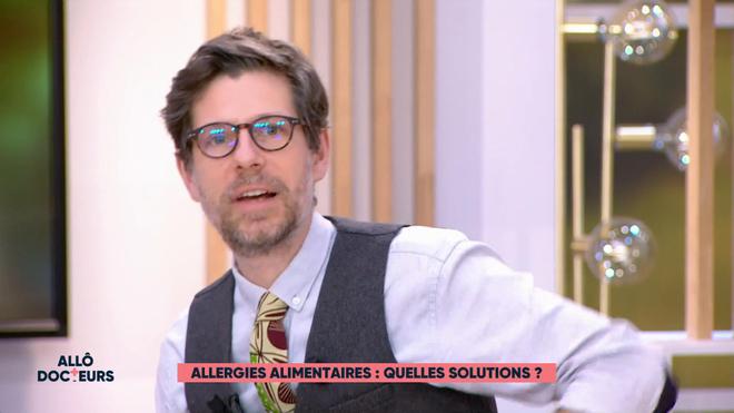 Marina Carrère d'Encausse et Philippe Charlier expliquent l'allergie.