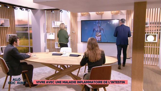 Marina Carrère d'Encausse et Régis Boxelé expliquent les MICI