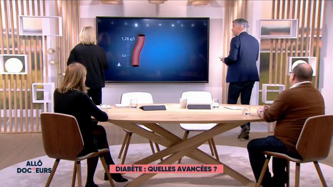 Marina Carrère d'Encausse et Régis Boxelé expliquent le diabète