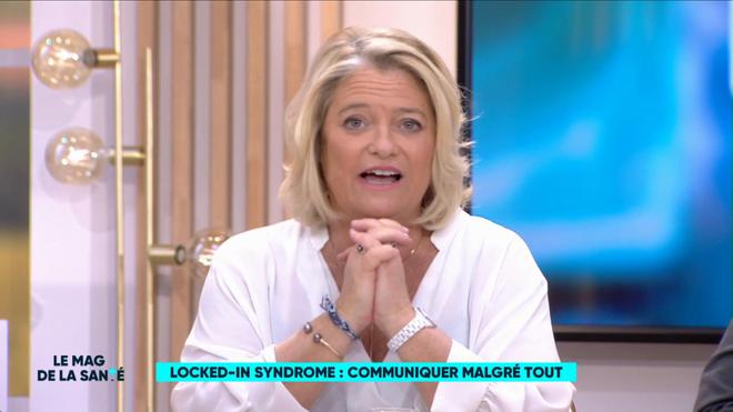 Marina Carrère d'Encausse et Philippe Charlier expliquent le locked-in syndrome