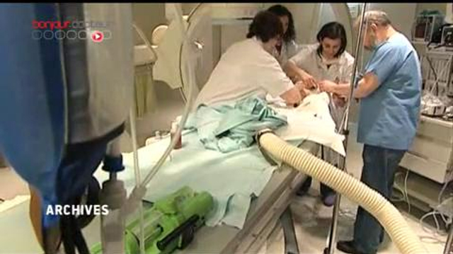 Première intervention endovasculaire sur un bébé prématuré