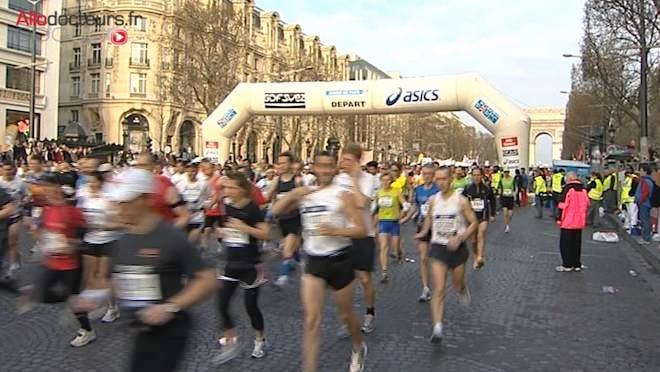 46.000 passionnés sont attendus au départ du 38e marathon de Paris.