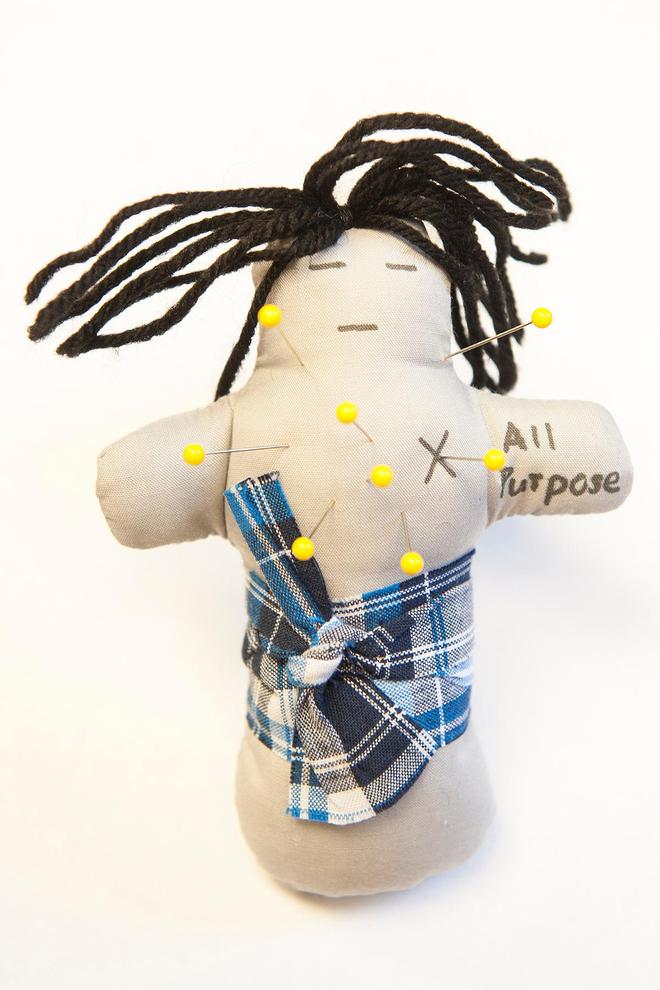 L'une des poupées de Brad Bushman. (droits réservés)