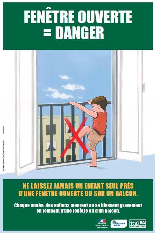 Accidents de la vie courante / Affiche INPES