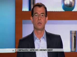 Marina Carrère d'Encausse et Benoît Thevenet expliquent l'omphalocèle.