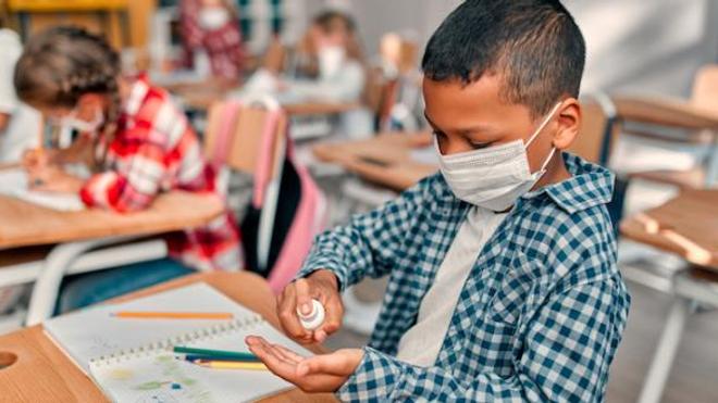 Les élèves réunionnais ont repris le chemin de l'école, malgré la recrudescence de l'épidémie (Image d'illustration)