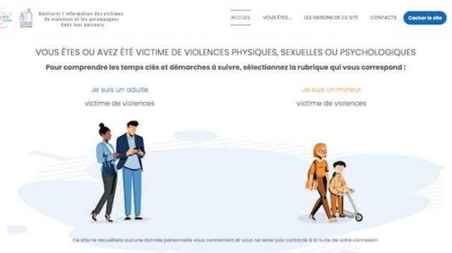 Un nouveau site internet pour aider les victimes de violences