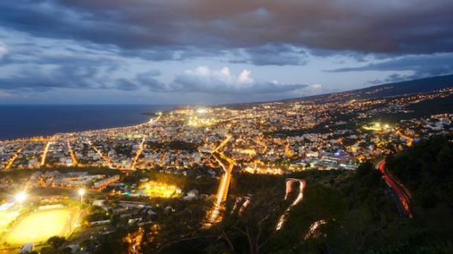 Image d'illustration. Vue sur la ville de Saint-Denis, La Réunion.