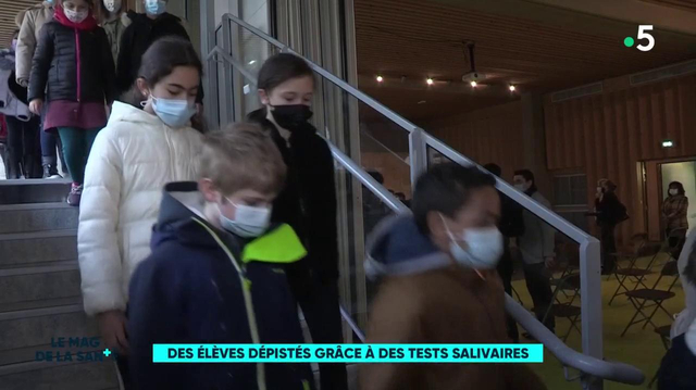 Tests salivaires : 350 élèves participent à une campagne dans une école de Bourg-la-Reine