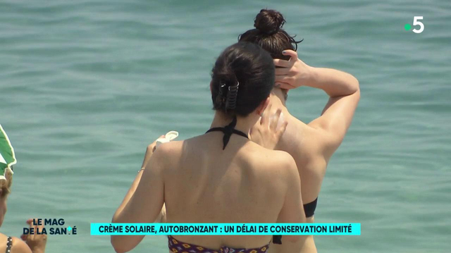 Crèmes solaires : un délai de conservation limité !