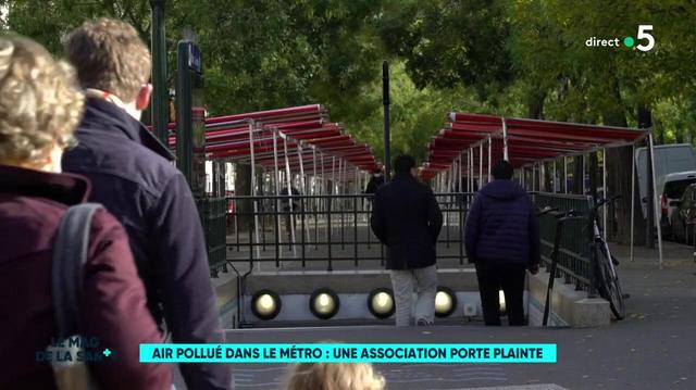 Pollution dans le métro : la RATP attaquée en justice