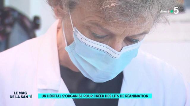 Un hôpital s'organise pour créer des lits de réanimation
