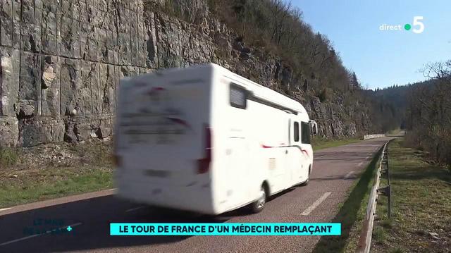 Le tour de France en camping car d'un médecin remplaçant