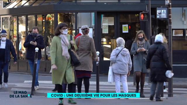 Covid : à Meudon, une deuxième vie pour les masques ?