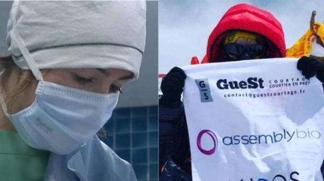 Hélène Drouin, future médecin-anesthésiste, devient la plus jeune Française à gravir l'Everest