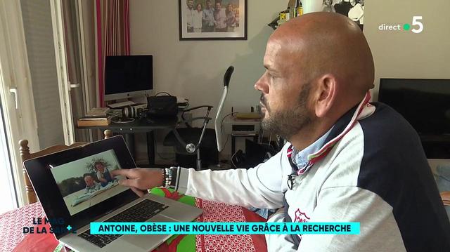 Antoine, atteint d'une forme d'obésité génétique et sauvé par la recherche